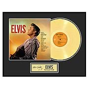 Elvis Presley Elvis! Framed Gold Record