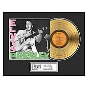 Elvis Presley Framed Gold Record