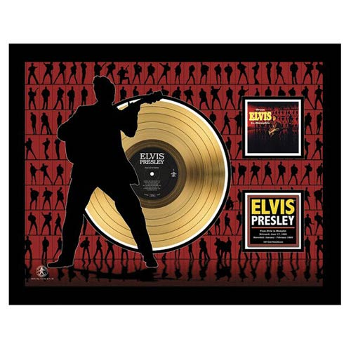 Elvis Presley in Memphis 24kt Gold LP Record