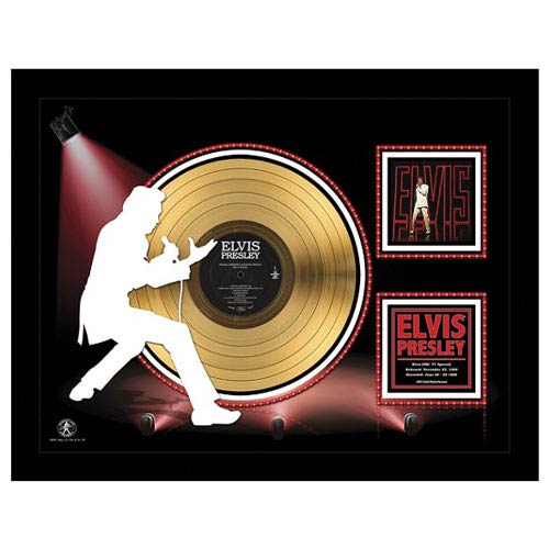 Elvis Presley NBC TV Special 24kt Gold LP Record