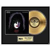 KISS Paul Stanley Framed Gold Record
