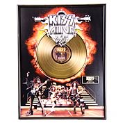 KISS Alive 35 Framed Gold Record