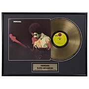 Jimi Hendrix Band of Gypsys Framed Gold Record
