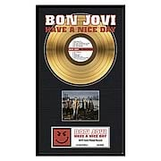 Bon Jovi Have A Nice Day Framed Gold Record
