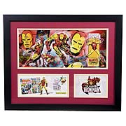 Iron Man Framed Lithographgraph with Event Cover