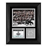 NHL Stanley Cup Champs L.A. Kings Framed Game-Used Net Piece