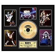 KISS Calling Dr. Love Framed Gold Record