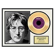 John Lennon Imagine Framed Gold Record