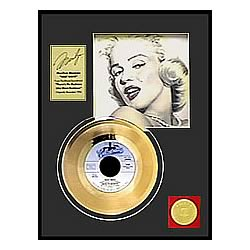 Marilyn Monroe Heat Wave Framed Gold Record
