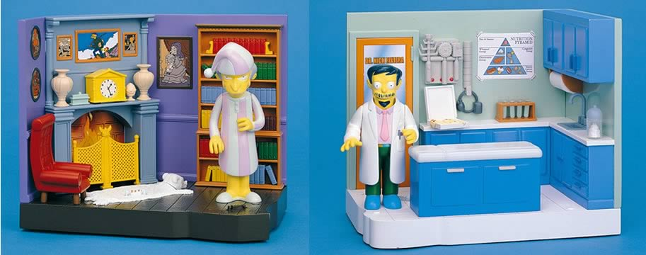 Simpsons Playsets Series 9