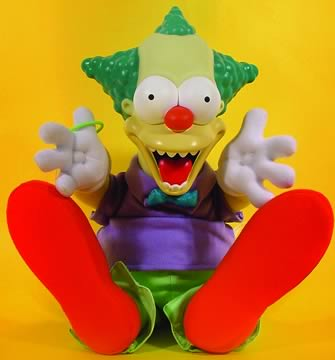 Evil Krusty The Clown Doll
