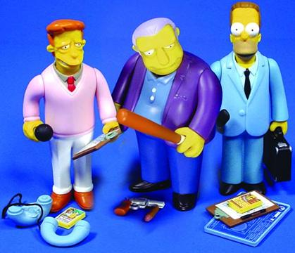 Simpsons Celebrity Series 1 Case