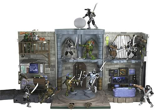 Ninja Turtles Lair Playset