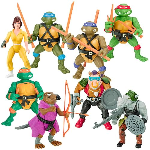 Teenage Mutant Ninja Turtles 25th Anniversary Wave 1