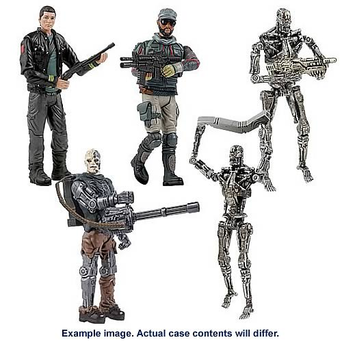 Terminator Salvation 3 3/4-Inch Action Figures Case