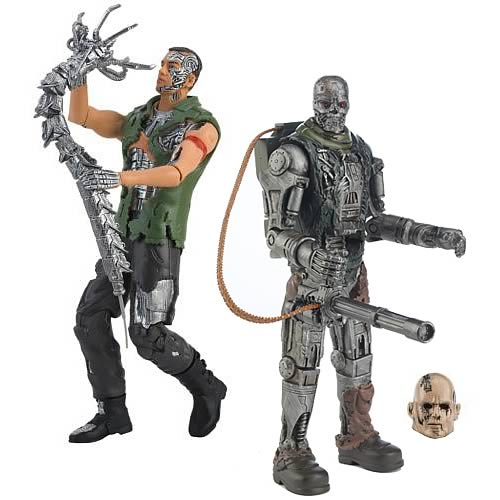 Terminator Salvation 10-Inch Action Figures Case
