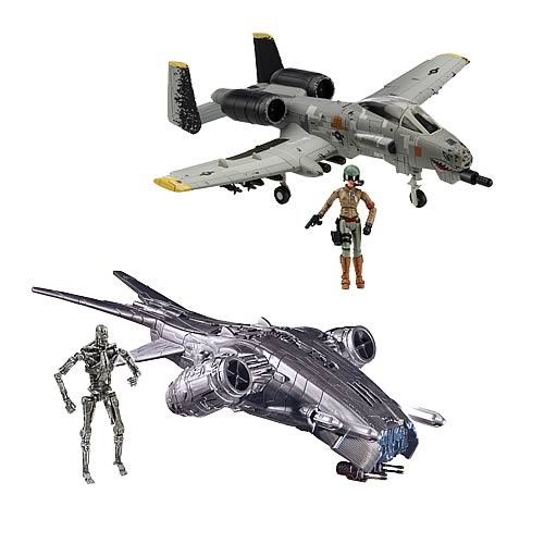 Terminator Salvation Vehicle and Action Figure Case