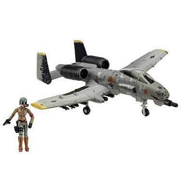 Terminator Salvation A-10 Warthog Vehicle and Blair Figure