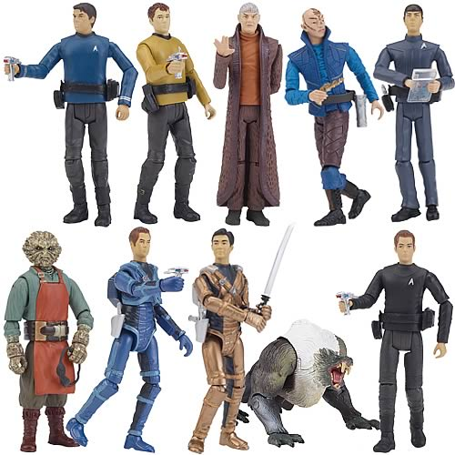 Exclusive Star Trek Movie Action Figures 3 3/4-Inch Wave 2
