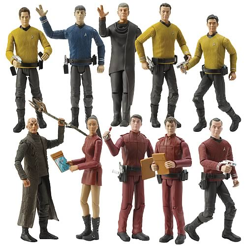 Star Trek Movie Action Figures 6-inch Set