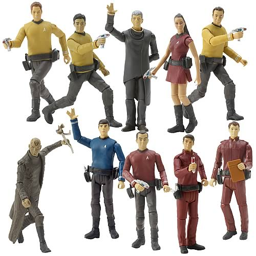 Star Trek Movie Action Figures 3 3/4-Inch Set