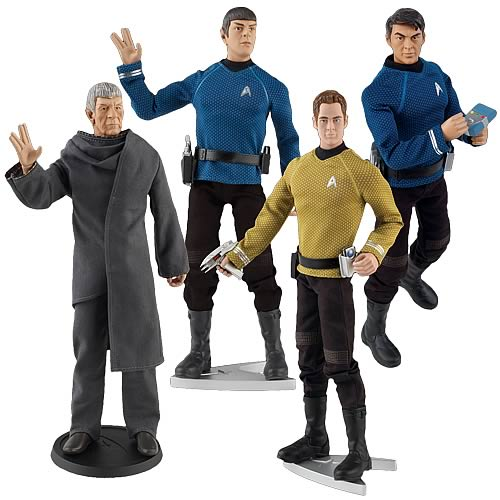 Star Trek Movie 12-Inch Collector Figure Set