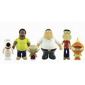 Family Guy Talking Action Figures Wave 1 Set