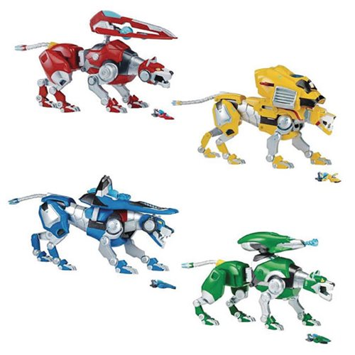 Voltron Combinable Lions Intelli-Tronic Figure Case