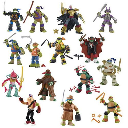 TMNT 2017 Basic Action Figure Wave 3 Case