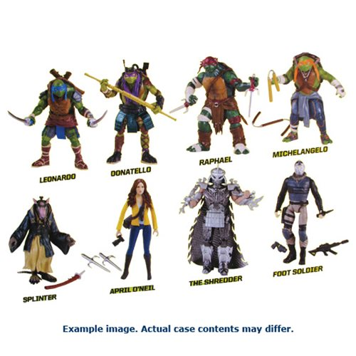 Teenage Mutant Ninja Turtles Basic Figures Wave 1 Case