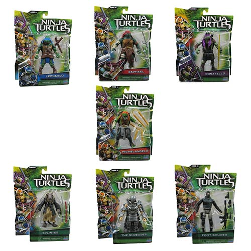 Teenage Mutant Ninja Turtles Movie Basic Action Figure Case