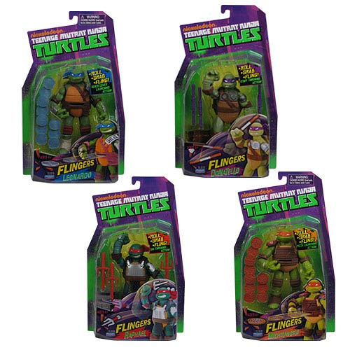 Teenage Mutant Ninja Turtles Deluxe Flinger Figure Case