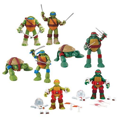 TMNT 11-Inch Deluxe Action Figure Wave 2 Case