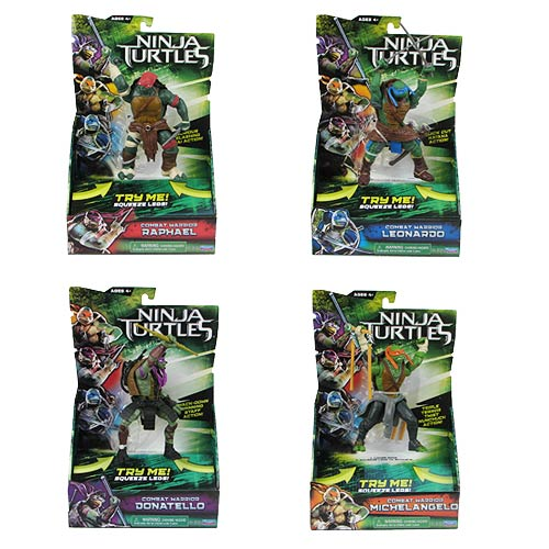 Teenage Mutant Ninja Turtles Movie Deluxe Action Figure Case