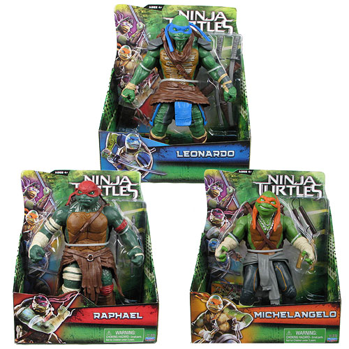 Teenage Mutant Ninja Turtles Movie 11-Inch Figure Case