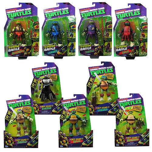 Teenage Mutant Ninja Turtles Deluxe Action Figure Case