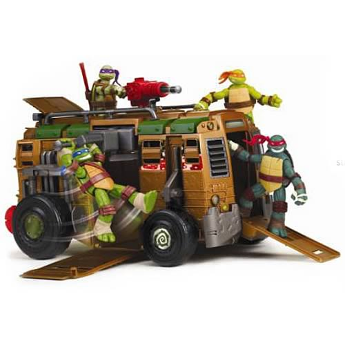 Teenage Mutant Ninja Turtles Shellraiser Deluxe Vehicle