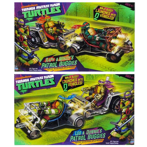 Teenage Mutant Ninja Turtles Deluxe Vehicle Case