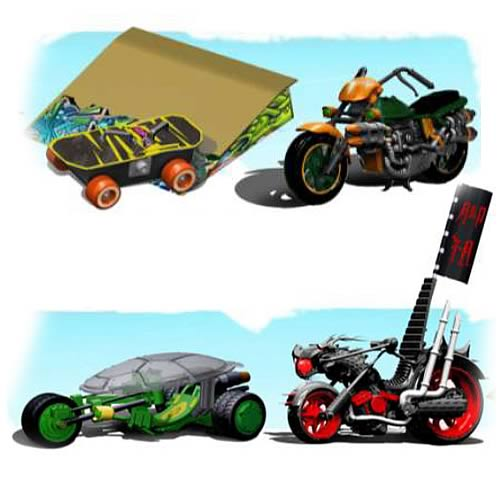 Teenage Mutant Ninja Turtles Basic Vehicles Case