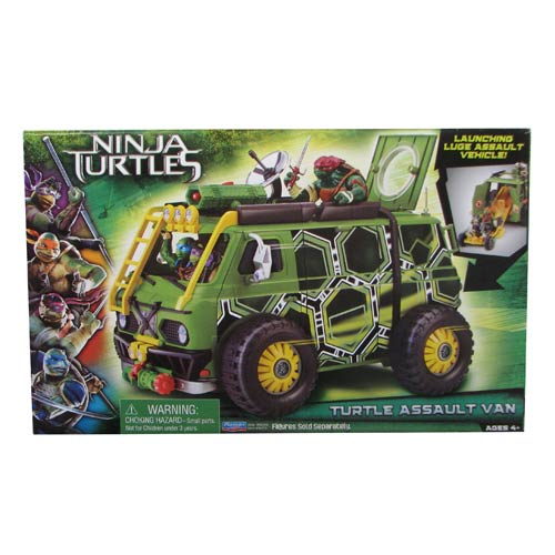 Teenage Mutant Ninja Turtles Movie Turtle Assault Van