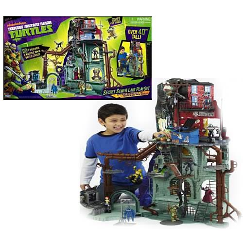 Teenage Mutant Ninja Turtles Secret Sewer Lair Playset