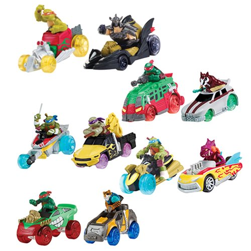 TMNT T-Machines Basic Vehicle 2-Pack Wave 2 Case