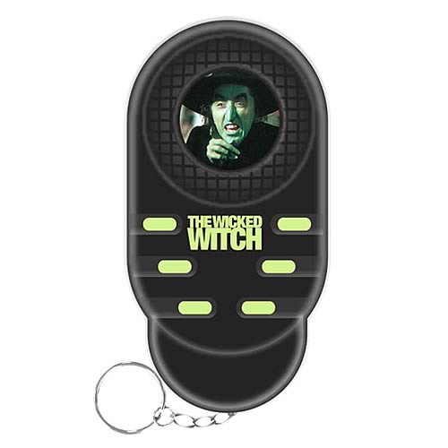 Wizard of Oz Wicked Witch Talking Keychain