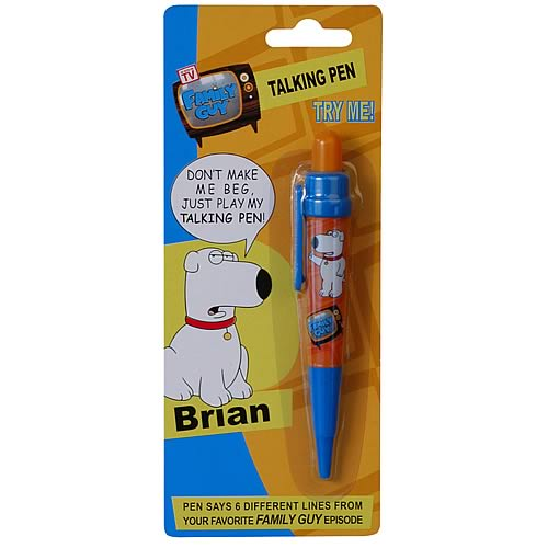 Family Guy Brian Talking Pen