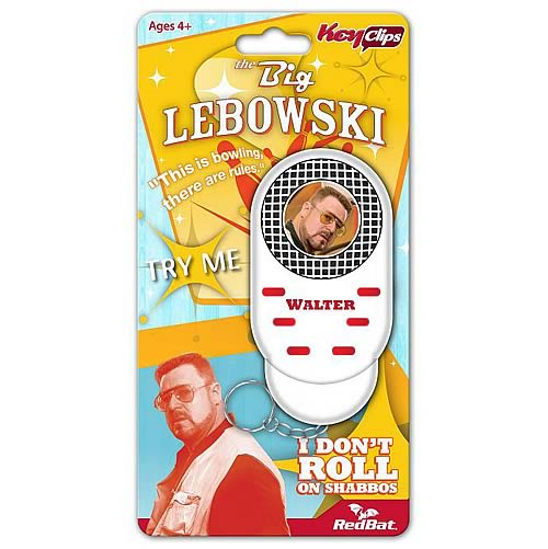 The Big Lebowski Walter Talking Key Chain