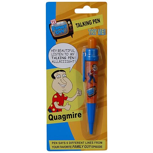 Family Guy Quagmire Talking Pen