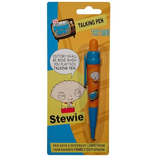 Family Guy Stewie Talking Pen