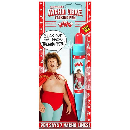 Nacho Libre Talking Pen