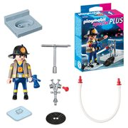 Playmobil 4795 Special Plus Fireman with Hose Action Figure