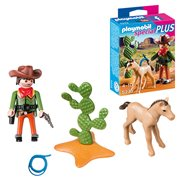 Playmobil 5373 Special Plus Cowboy with Foal Action Figure